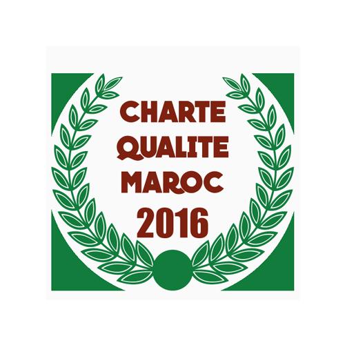charte qualité maroc 2016